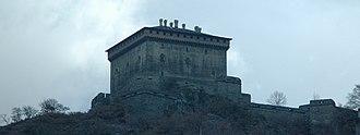 Verrès - the castle