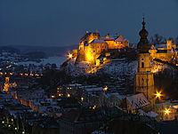 CastleBurghausenNight