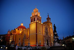 Guanajuato City - Catedral de Guanajuato