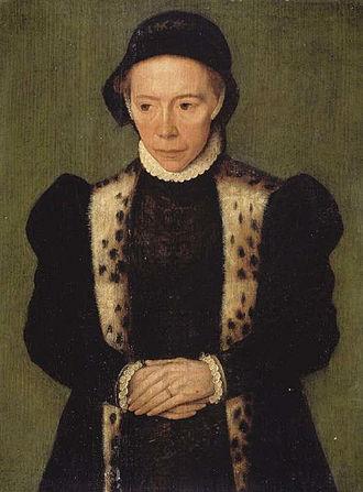 Catharina van Hemessen - Image: Caterina van Hemessen Portrait of a Woman