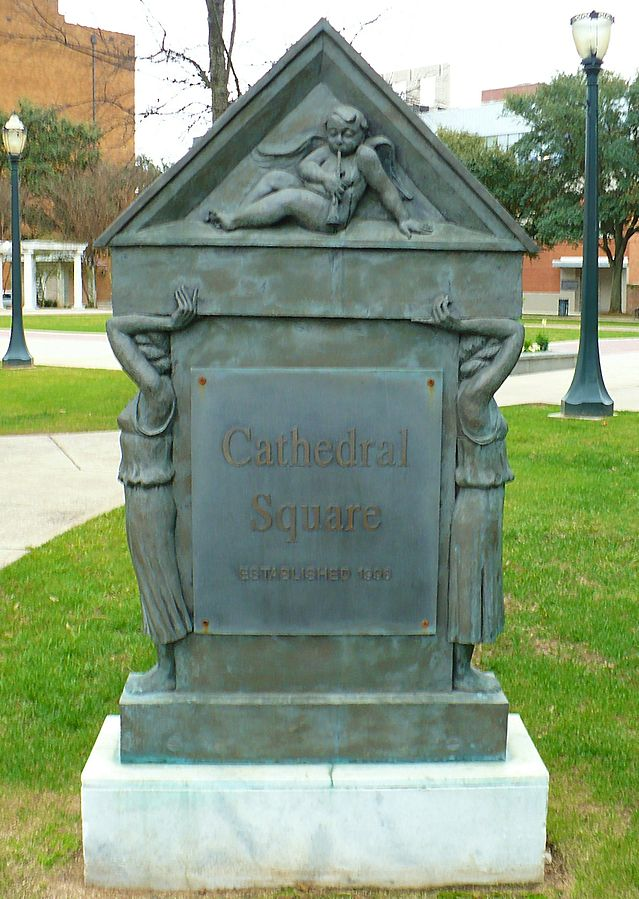 Cathedral Square, Mobile, Alabama