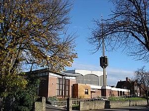 Woodthorpe, Nottinghamshire - Image: Catholic Church of the Good Shepherd, Nottingham geograph.org.uk 1042521