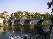 Cavour Bridge, Rome, Italy