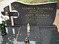 Cemetery in Popowo Ignacewo (2) Józef Klimacki.jpg