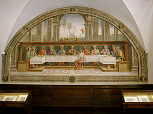Last Supper (Perugino) - Image: Cenacolo di Fuligno, pietro perugino