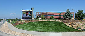 The Centennial Civic Center on East Arapahoe Road.