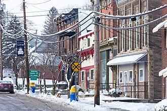 Bainbridge, New York - Center of town