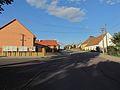 Center square of Zvěrkovice, Třebíč District.JPG