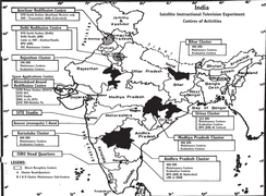Centres of Activities for Satellite Instructional Television Experiment in India.png