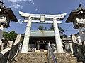 Ceramic torii of Sueyama Shrine.jpg