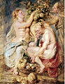 Ceres and Two Nymphs with a Cornucopia by Peter Paul Rubens.jpg