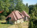 Cergy (95), paire de deux pavillons sur le domaine d'un château, rue de Vauréal (RD 922).jpg