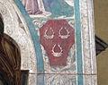 Certaldo alta, santi tommaso e prospero, tabernacolo dei giustiziati 08 stemma soderini.JPG