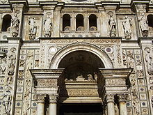 Certosa di Pavia - portal