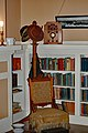 Chair and Bookshelves at Museum.jpg