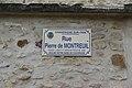 Champagne-sur-Oise Straßenschild 55.JPG
