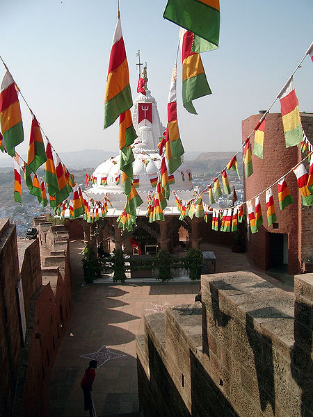 Chamunda Devi Temple, Jodhpur, India