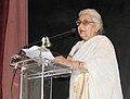 "Chandresh Kumari Katoch addressing at the inauguration of an exhibition ""Jamini Roy Journey to the Roots"", celebrating the 125th Birth Anniversary of eminent artist Jamini Roy, in New Delhi on June 24, 2013.jpg"