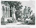 Chanteur grec ambulant et costumes des habitans de la Morée - Castellan Antoine-laurent - 1808.jpg