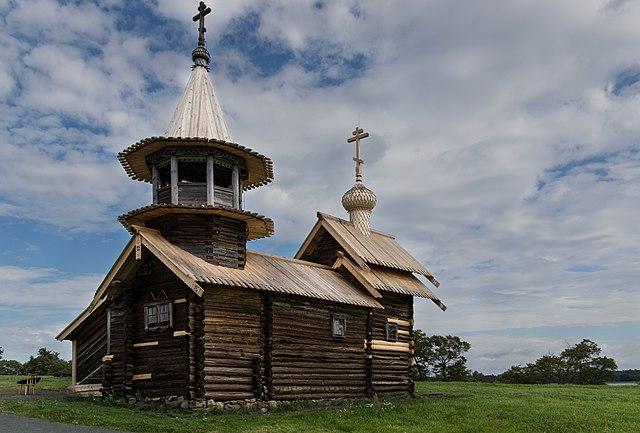 Museo Reserva de Arquitectura de Madera de Kizhí, República de Carelia. Rusia