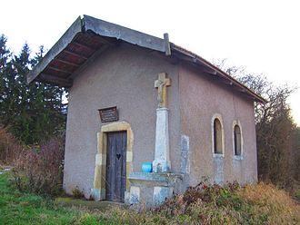 Adaincourt - The chapel in Adaincourt