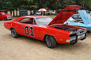 The Dukes of Hazzard - The General Lee Charger