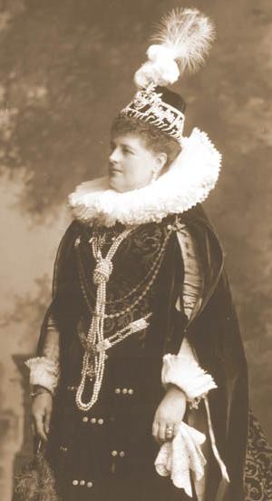 Charlotte Spencer, Countess Spencer - The Countess Spencer as the Countess of Lennox during the Devonshire House Ball, 1897.