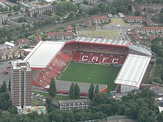 Football stadium in London, home to Charlton Athletic F.C.