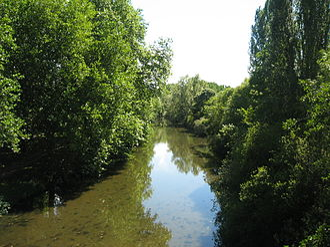 Arnon (river) - The Arnon at Chârost