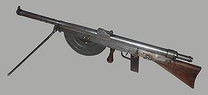 Chauchat - Chauchat machine gun from the Verdun Memorial