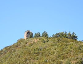 The tower in Chauvac