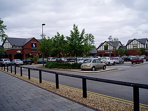 Cheshire Oaks Designer Outlet - Image: Cheshire Oaks geograph.org.uk 199420