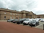 Chester Castle - Outer bailey - Assize Courts Block.JPG