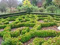 Chesters Walled Garden - the Knot Garden - geograph.org.uk - 1589395.jpg
