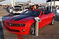 Chevrolet Camaro 2012 SS Convertible LFront MacDill AirFest 5Oct2011 (14699672675).jpg