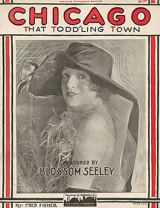 Fred Fisher - Image: Chicago Toddling Cover Blossom Seeley