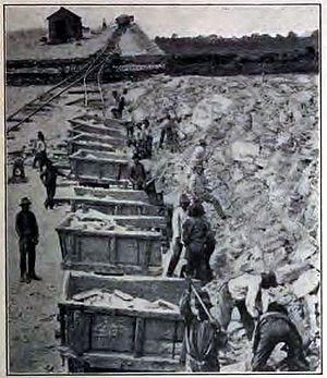Chicago Sanitary and Ship Canal - Construction of the Chicago Drainage Canal, 1900s