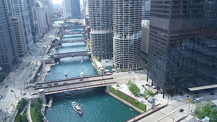 Chicago River from above Chicago River 6.jpg