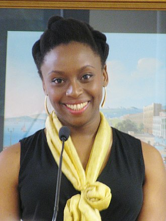 Flawless (Beyoncé song) - The song features a speech delivered by Nigerian writer Chimamanda Ngozi Adichie (pictured).