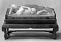 Chinese anatomical female nude figure reclining on a couch. Wellcome M0020054.jpg