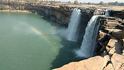 Chitrakote Falls is located in Kanger Ghati National Park in Chhattisgarh