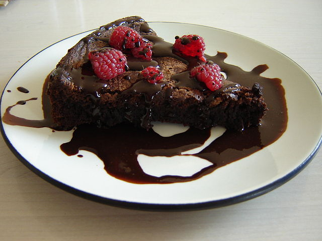 Flourless Chocolate Cake Made With Cocoa Powder Recipe