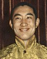 Choekyi Gyaltsen, 10th Panchen Lama in the 1950s, from- Dalai and Panchen (cropped).jpg