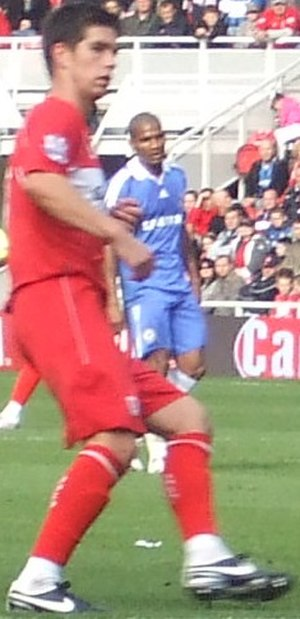 Chris Riggott - Riggott playing for Middlesbrough in 2008