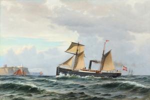 Christian Blache - Dampskibet Horsa - 1869.png