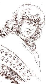 Christiane Vulpius, Zeichnung von Johann Wolfgang von Goethe (Quelle: Wikimedia)