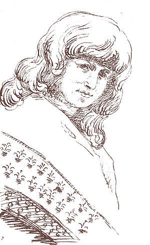 Christiane Vulpius - Christiane Vulpius, drawn by Goethe