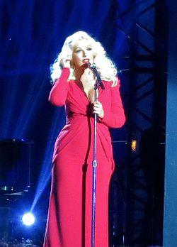 Christina Aguilera ai Breakthrough Prize Awards 2014
