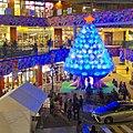 Christmas Tree made by illuminated ball in ASUNAL Kanayama - 2.jpg