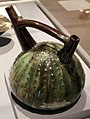 Christopher dresser per linthorpe art pottery, contenitore sea urchin, linthorpe UK 1879-92.jpg